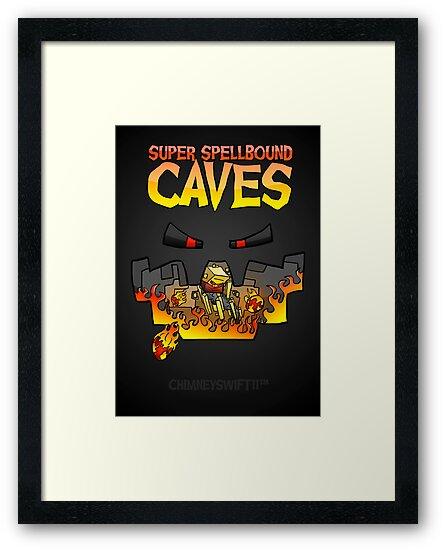 Super Spellbound Caves - Blaze Poster by ChimneySwift11