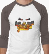 Super Spellbound Caves - Blaze T-Shirt Men's Baseball ¾ T-Shirt