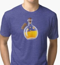 Super Spellbound Caves - Fire Resistance Potion T-Shirt Tri-blend T-Shirt