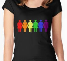 Feminism Pride Women's Fitted Scoop T-Shirt