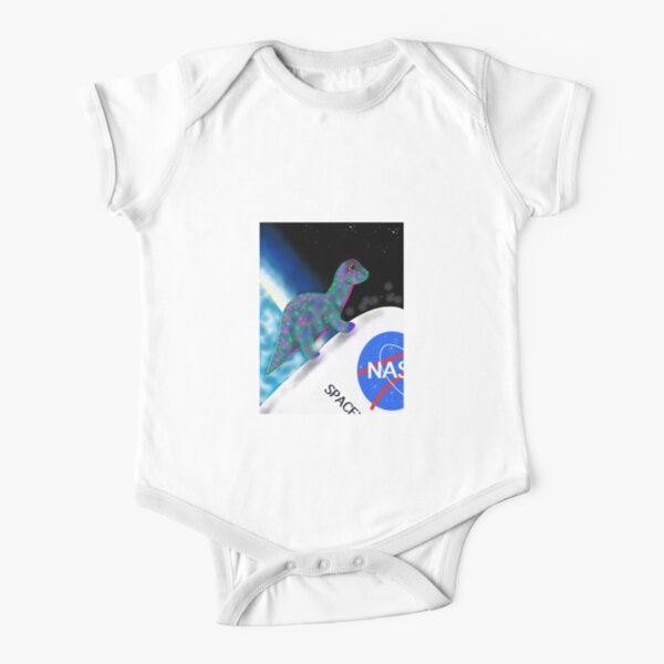 Tremor the Apatosaurus  Short Sleeve Baby One-Piece