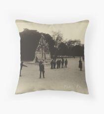 Parisian Postcard - VI  Throw Pillow
