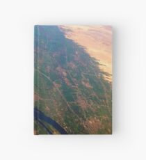 Egypt From Above - The Nile In Bright Color Hardcover Journal