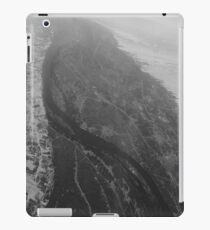 Egypt From Above - The Nile In Black and White iPad Case/Skin