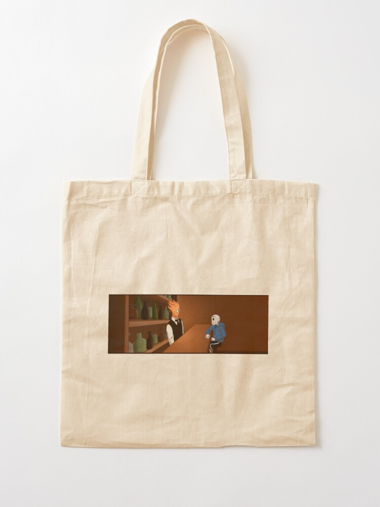 Alternate view of Sansby Awkward Silence Tote Bag