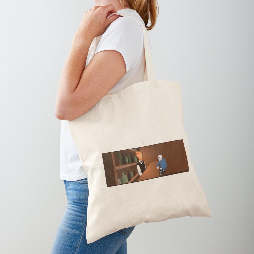 Sansby Awkward Silence Tote Bag