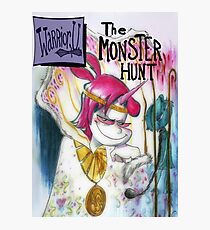 WU - The Monster Hunt  Photographic Print