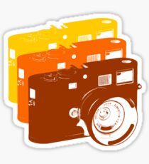 Leica addict Sticker