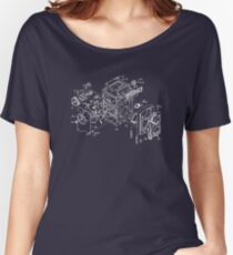 exploded rolleicord Women's Relaxed Fit T-Shirt