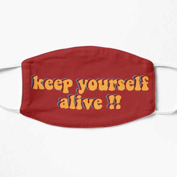 Reste en vie ! Masque sans plis