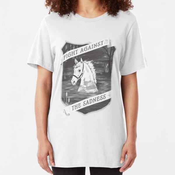 Fight against the sadness, Artax! Slim Fit T-Shirt