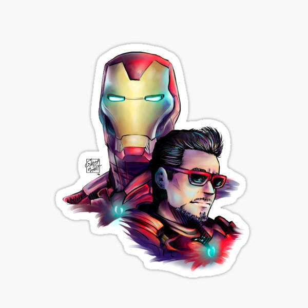 The suit and I are one (no name) Sticker