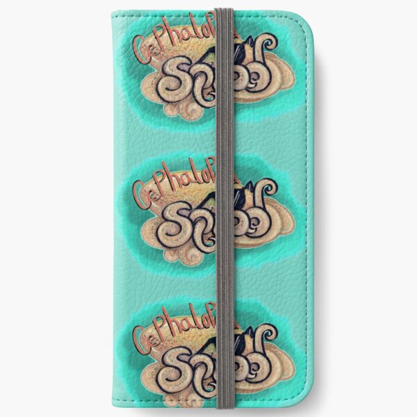 Cephalopod Squad iPhone Wallet