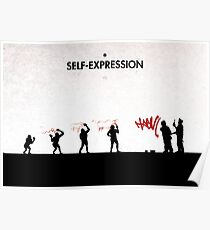 99 Steps of Progress - Self-expression Poster