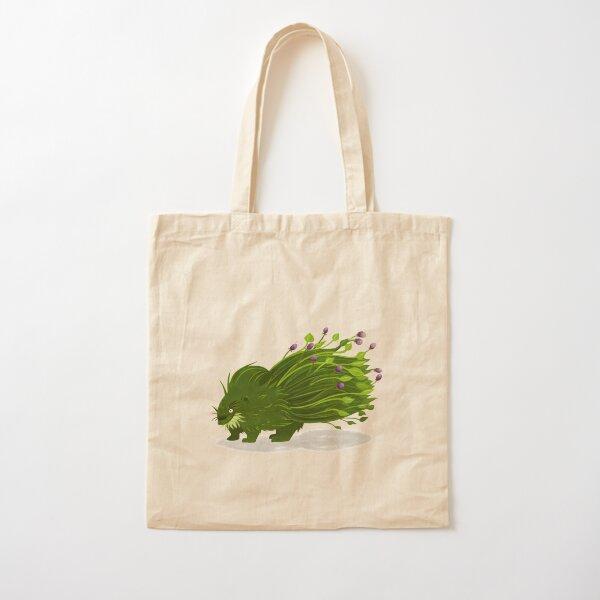 Pflanzenstachelschwein Baumwolltasche