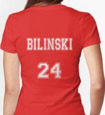 Stiles.. . . er. . Bilinski?  Womens Fitted T-Shirt