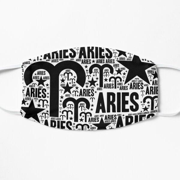 Aries Sign Flat Mask