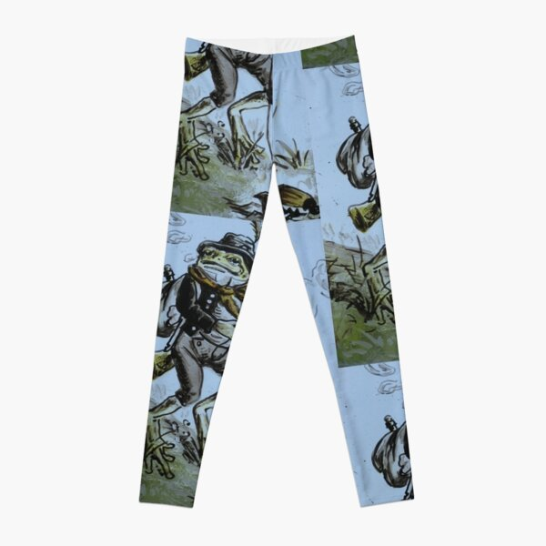 froggy takes his beetles for a walk Leggings