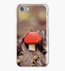 Red Cap iPhone Case/Skin