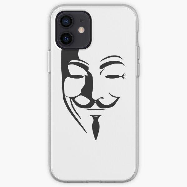 Coques et étuis iPhone sur le thème Anonymous   Redbubble