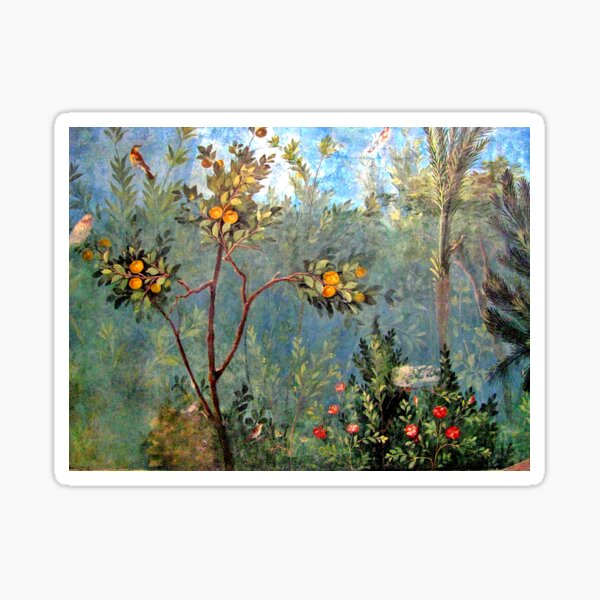 House of Livia Prima Porta Fresco Sticker