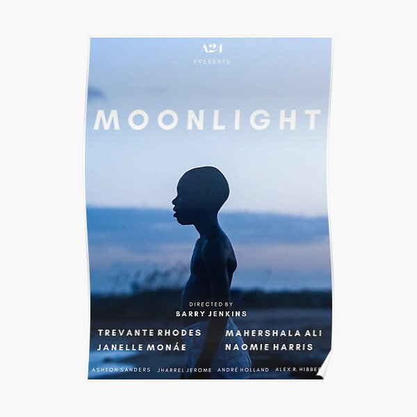 Moonlight alternative film poster 2 Poster