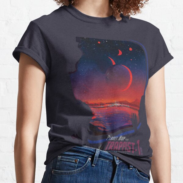 MOST HABITABLE NEARBY EXOPLANET Classic T-Shirt