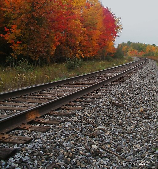 Autumn on down the line... by linmarie