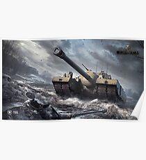 World of tanks T95 Poster
