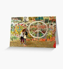 All You Need is Love - The Beatles - John Lennon - Imagine Greeting Card