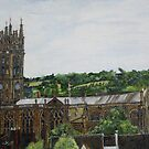 St Mary's Collgaite Church, Warwick. Warwickshire by Woodbine252
