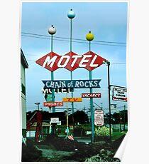 Retro Motel Poster