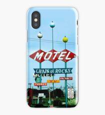 Retro Motel iPhone Case
