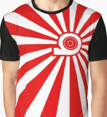Rising Sun - Turbo Graphic T-Shirt