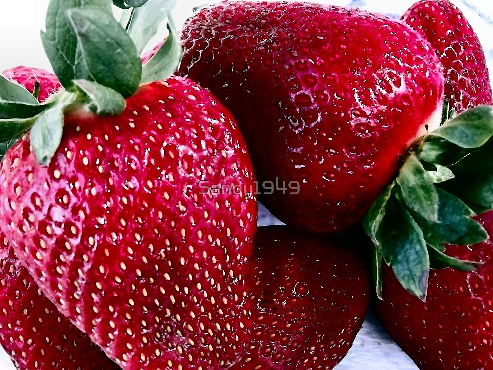 Delicious Strawberries by Sandy1949
