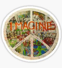 All You Need is Love - The Beatles - John Lennon - Imagine Sticker