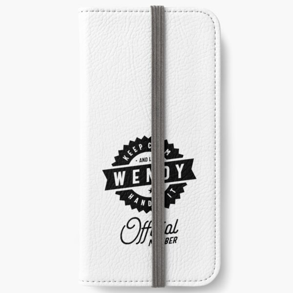 Wendy Personalized Name Birthday Gift iPhone Wallet