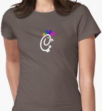 Chick-Fil-Gay Logo Tee Women's Fitted T-Shirt