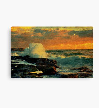 Evening Shores Canvas Print