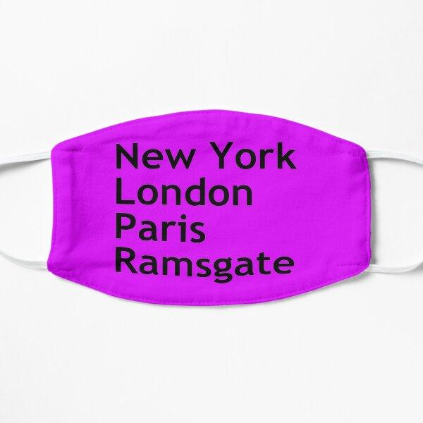 New York London Paris Ramsgate Mask