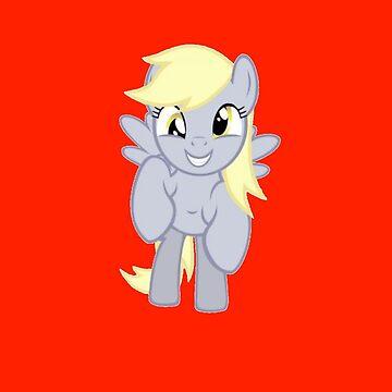 DERPY! (my little pony: friendship is magic) by Bluethealicorn