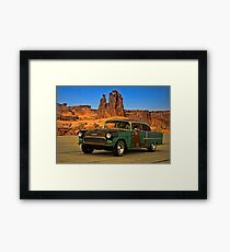 "1955 Chevrolet ""Road Trip"" Framed Print"