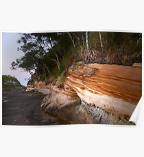 Earthly Colours II - Sandstone Point  Poster