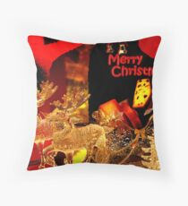 Christmas goodies... Throw Pillow
