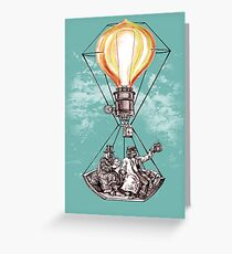 The Adventurers of the Sun and Sky Greeting Card