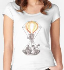 The Adventurers of the Sun and Sky Women's Fitted Scoop T-Shirt