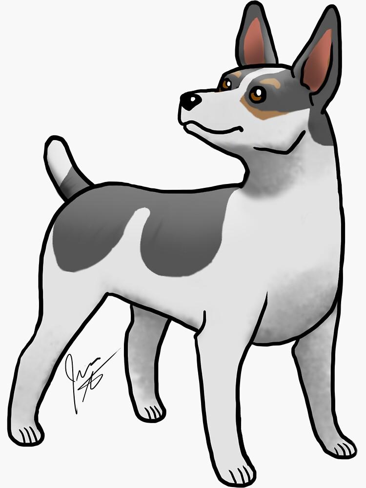 Rat Terrier - Black Tri by jameson9101322