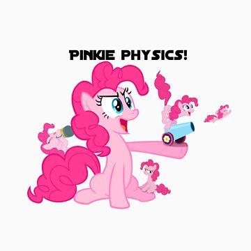 pinkie physics by Bluethealicorn