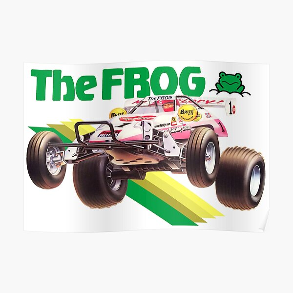 RC FROG Poster