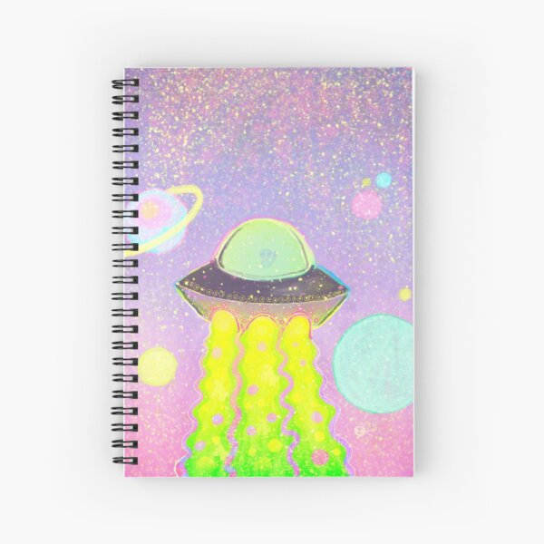 spacing out Spiral Notebook